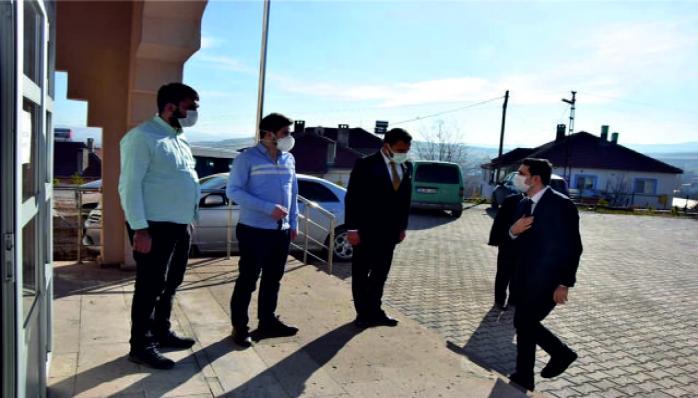 Kaymakam Kayatürk Toplum Sağlığı Merkezini Ziyaret Etti
