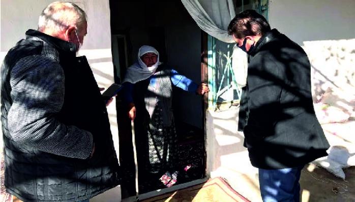Başkan Tamer Yanlız Yaşayan Vatandaşları Ziyaret Etti