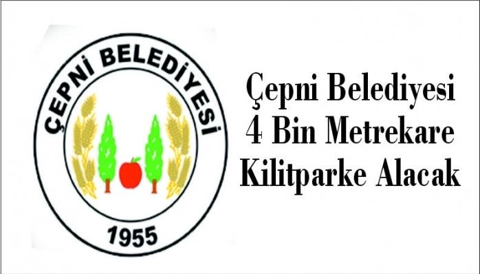 Çepni Belediyesi 4 Bin Metrekare Kilitparke Alacak