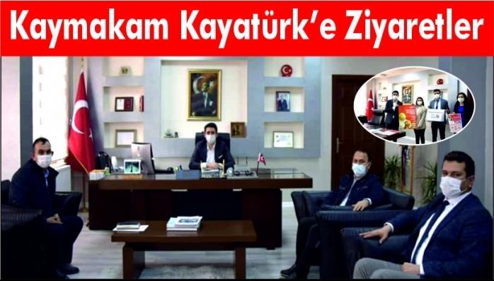 Kaymakam Kayatürk'e Ziyaretler